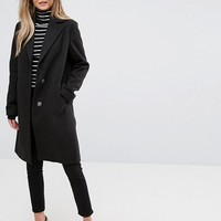 New Look Tailored Coat at asos.com