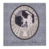 Habetrot The Spinning Goddess BOS Grimoire Witch 3 Ring Binder
