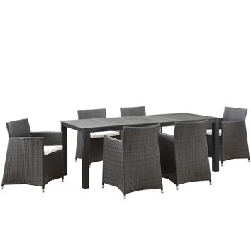 Junction 7 Piece Outdoor Patio Dining Set