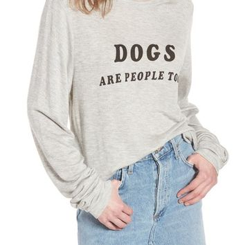 Wildfox Dogs - Baggy Beach Jumper Pullover | Nordstrom