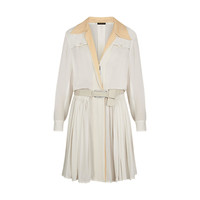 Products by Louis Vuitton: SILK CREPE LONG SLEEVE DRESS