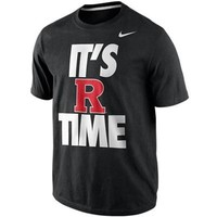 Nike Rutgers Scarlet Knights It's R Time 2013 Local T-Shirt - Black