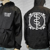 Snake Black Hooded Windbreaker : MerchNOW