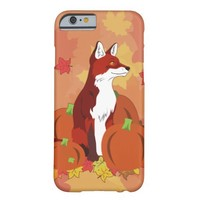 A Fox in the Pumpkin Patch Barely There iPhone 6 Case