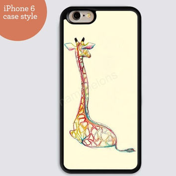 iphone 6 cover,Giraffe colorful watercolor iphone 6 plus,Feather IPhone 4,4s case,color IPhone 5s,vivid IPhone 5c,IPhone 5 case Waterproof 350