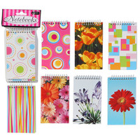 Bulk 60-Sheet Spiral-Bound Notepads, 4-ct. Packs at DollarTree.com