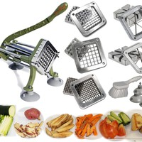 Free Shipping on TigerChef Heavy Duty French Fry Cutter Complete Set