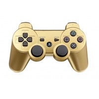 Dual shock 3 Wireless PS3 Controller for Sony PS3 Metallic Gold