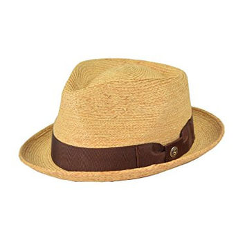 Stetson And Dobbs Hats TS42ND-4017 42Nd Street Fedora, Natural - L