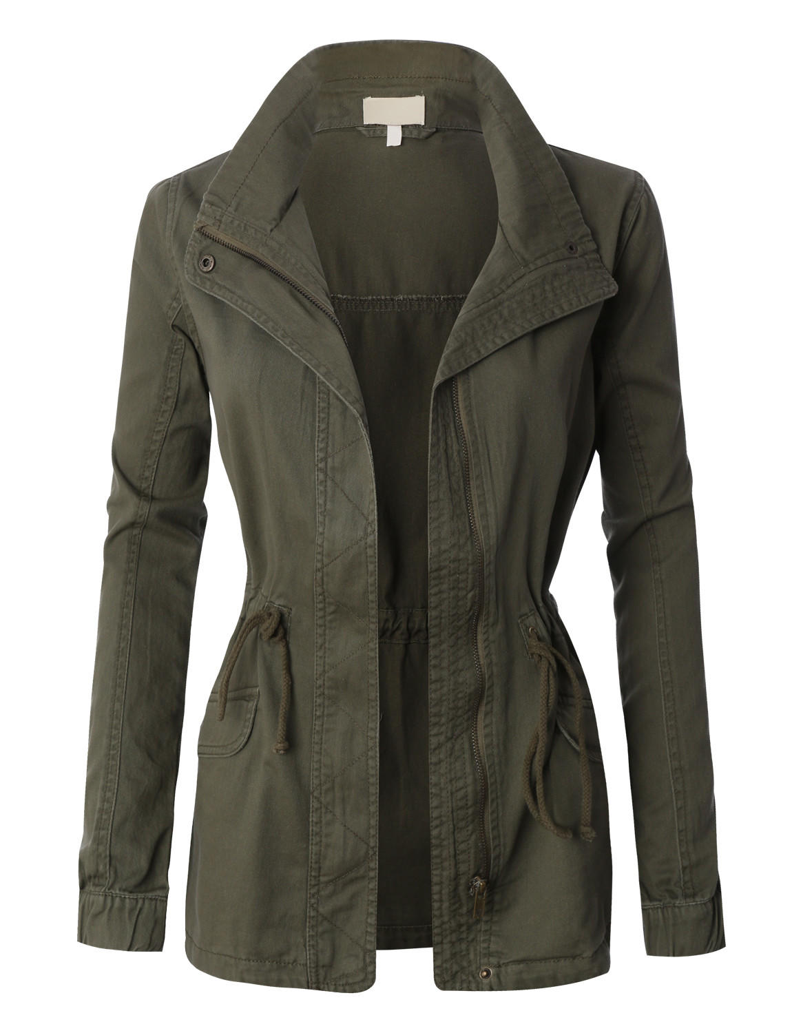 Womens Military Anorak Jacket