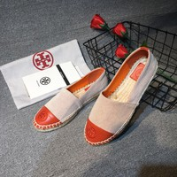 TB Tory Burch new cheap Women Leather white flat heels Boots Fashion Casual Shoes Best Quality