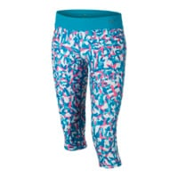 Nike Legend Allover Print Tight Fit Girls' Training Capri Pants