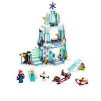 SY373 JG301 Girl Princess Figure Snow Queen Elsa's Sparkling Ice Castle Anna Elsa Building Toys for Children Blocks toys