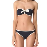 Marc by Marc Jacobs Woodward Solids Bandeau Bikini Top | SHOPBOP