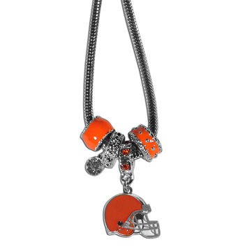 Cleveland Browns Charm Necklace