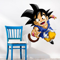 SonGoku Dragonball GT Decal - Goku Wall Decal Printed and Die-Cut Vinyl Apply in any Flat Surface - Dragon Ball GT Goku Wall Decal Sticker