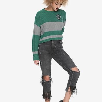 Harry Potter Slytherin Girls Quidditch Sweater