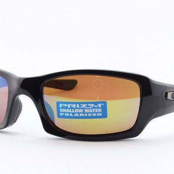 One-nice™ Oakley Fives Squared 9238-18 Polarized Sport Sailing Surfing Cycling Sunglasses