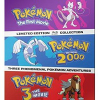 Various - Pokémon: The Movies 1-3 Steelbook Collection