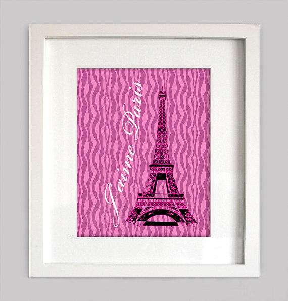 Xhilaration Wall Decor : I love paris digital wall art from pastbecomespresent on