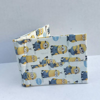 Despicable Me Minions Duct Tape Wallet - Bifold Wallet