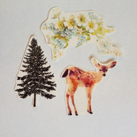Woodland Temporary Tattoo Pack- SmashTat