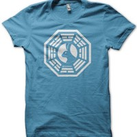 DHARMA Looking Glass Logo T-Shirt