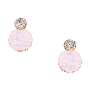 Double Bubble Pink Earrings