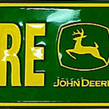 Tin Sign - John Deere Country
