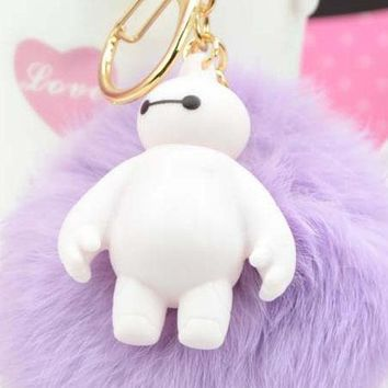 Pom Pom Anime Key or Bag Charm - 10 Colors