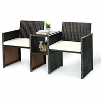 Marcelino Rattan Seating Group with Cushion