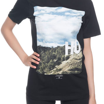 The HOllywood Tee in Black
