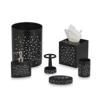 Diamond Black Bath Ensemble - Bed Bath & Beyond