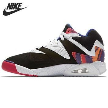 Original New Arrival 2016 NIKE AIR TECH CHALLENGE IV Men's Printed Tennis Shoes Sneake