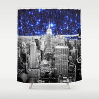 new york city Shower Curtain by 2sweet4words Designs