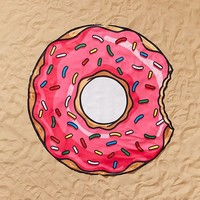 Bigmouth Donut Beach Blanket | Urban Outfitters