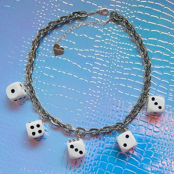 High Roller Charm Necklace