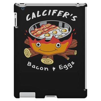calcifer's bacon and eggs iPad 3 and 4 Case