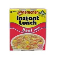 Maruchan Instant Lunch Beef Flavor Ramen Noodles with Vegetables 2.25 oz (Pack of 12)