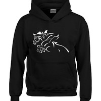 Showjumping Horseback Riding Rider Design - Hoodie