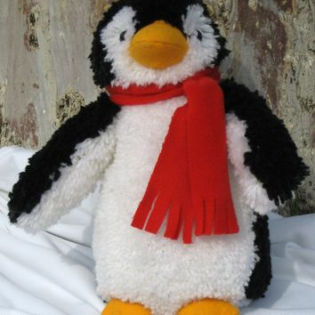 Penguin Huggables Stuffed Toy Latch Hook Kit 15""