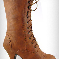 Whiskey Mill Victorian Boots   PLASTICLAND