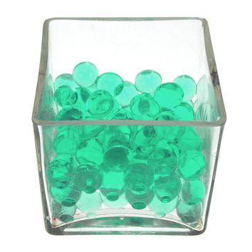 Magic Water Beads Jelly Balls Vase Filler, X-Large, 225g, Green