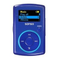 SanDisk Sansa Clip 2 GB MP3 Player - Blue