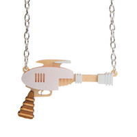 Raygun Necklace