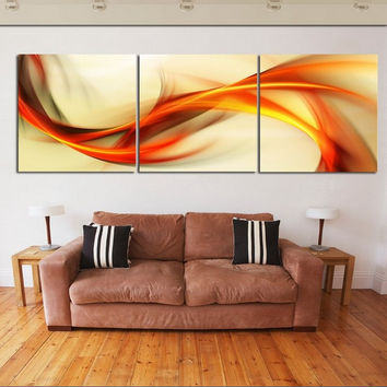 2016 New 3 piece wall art big size 50cm*50cm Home Decor Modern Picture Set on Canvas Painting printed art picture No Frame