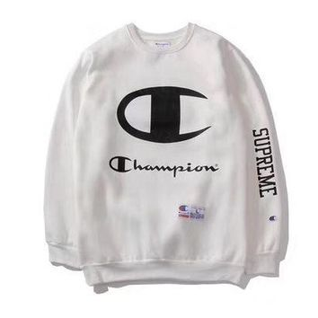 DCCKI72 Supreme Print Cotton Vintage High Quality Hoodies [76110725132]