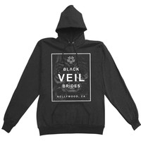Black Veil Brides  Black Box Girls Jr Hooded Sweatshirt Black