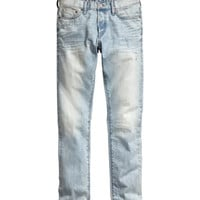 H&M - Slim Low Jeans - Light denim blue - Men