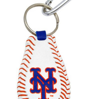 MLB New York Mets Baseball Keychain